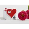 Pudełeczko dla gości na Ślub Serce