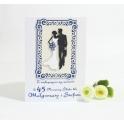Kartka z okazji 45 rocznicy ślubu personalizowana