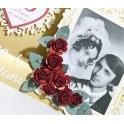 Kartka na 40 rocznicę ślubu-rubinowe gody w pudełku