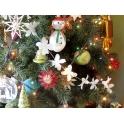 Girlanda, łańcuch - kwiaty -  dekoracja na ślub,komunię, Święta Bożego Narodzenia -     5 m