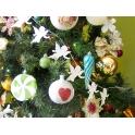 Girlanda, łańcuch - aniołki na Święta Bożego Narodzenia - 5 m