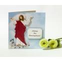 Kartka wielkanocna - Jezus zmartwychwstał Alleluja!