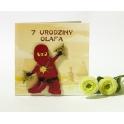Kartka na urodziny dziecka -  ninjago