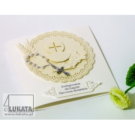 Kartka Podziękowanie Dla Księdza Zaproszenia Dekoracje Pracownia