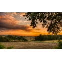 Fotoobraz Pejzaż Zachód Słońca na Śląsku